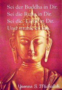 buddha ruhe liebe in dir